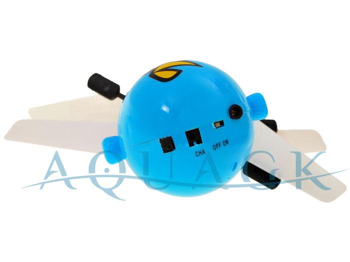 fliegende angry birds leuchtende ball rotorball geschenk f r kinder rot blau neu. Black Bedroom Furniture Sets. Home Design Ideas