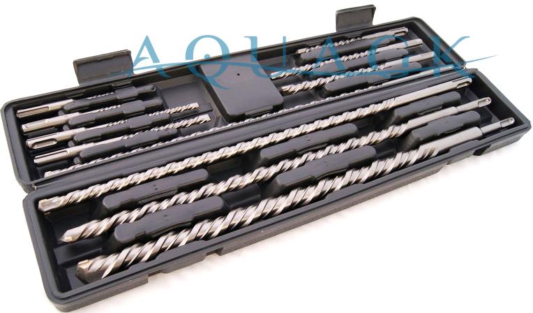 SDS Plus Bohrer Set 20 tlg Hammerbohrer Betonbohrer 5-20 mm NEU
