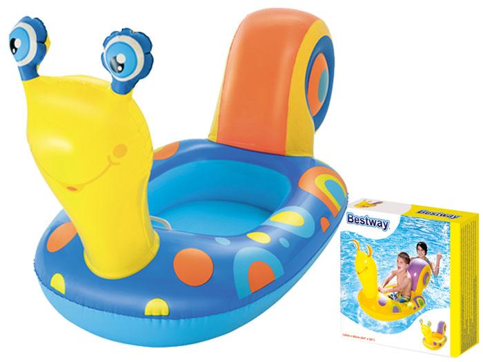 Kinderboot Wasserspielzeug Schlauchboot Ponton für Kinder Schnecke Bestway 34102
